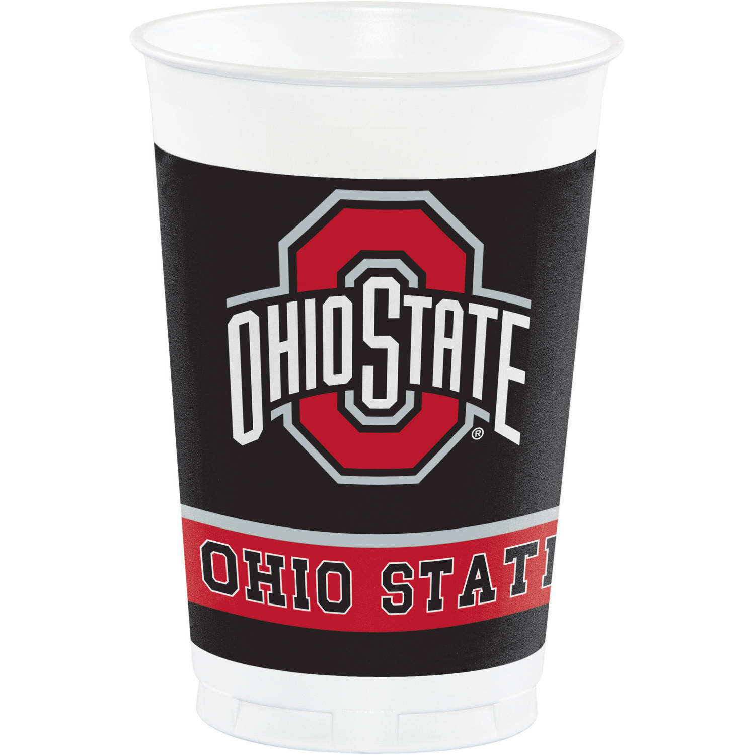 Ohio State University Plastic Cups, 8pk