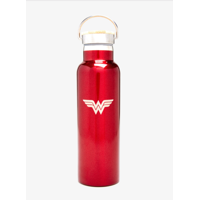 Wonder Woman Vacuum Stainless Steel Insulated Water Bottle (20 OZ). Double Walled Construction. Zero Condensation!