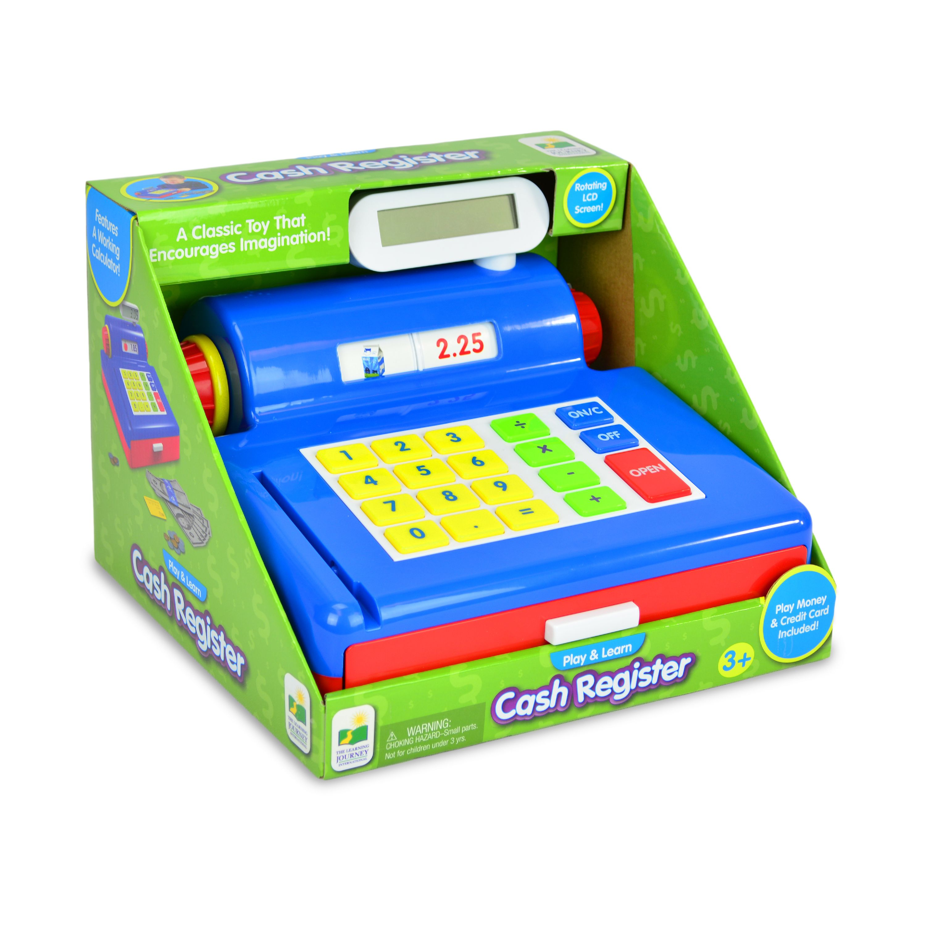 Play and Learn Cash Register