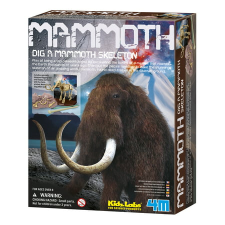 - 4M KidzLabs Dig A Mammoth Skeleton Kit