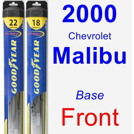 2000 Chevrolet Malibu - 2000 Chevrolet Malibu (Base) Wiper Blade Set/Kit (Front) (2 Blades) - Hybrid