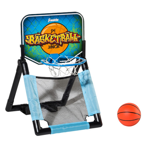 Franklin Sports Mini 2-in-1 Basketball Game Set