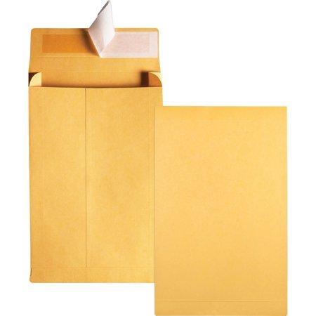- Quality Park, QUA93334, Kraft Redi-strip Expansion Envelopes, 25 / Pack, Kraft