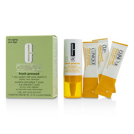 Pressed Daisy (Fresh Pressed 7-Day System with Pure Vitamin C (1x Daily Booster 8.5ml + 7x Renewing Powder Cleanser )