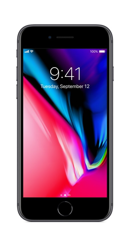 Straight Talk Apple iPhone 8 with 64GB Prepaid Smartphone, Space Gray