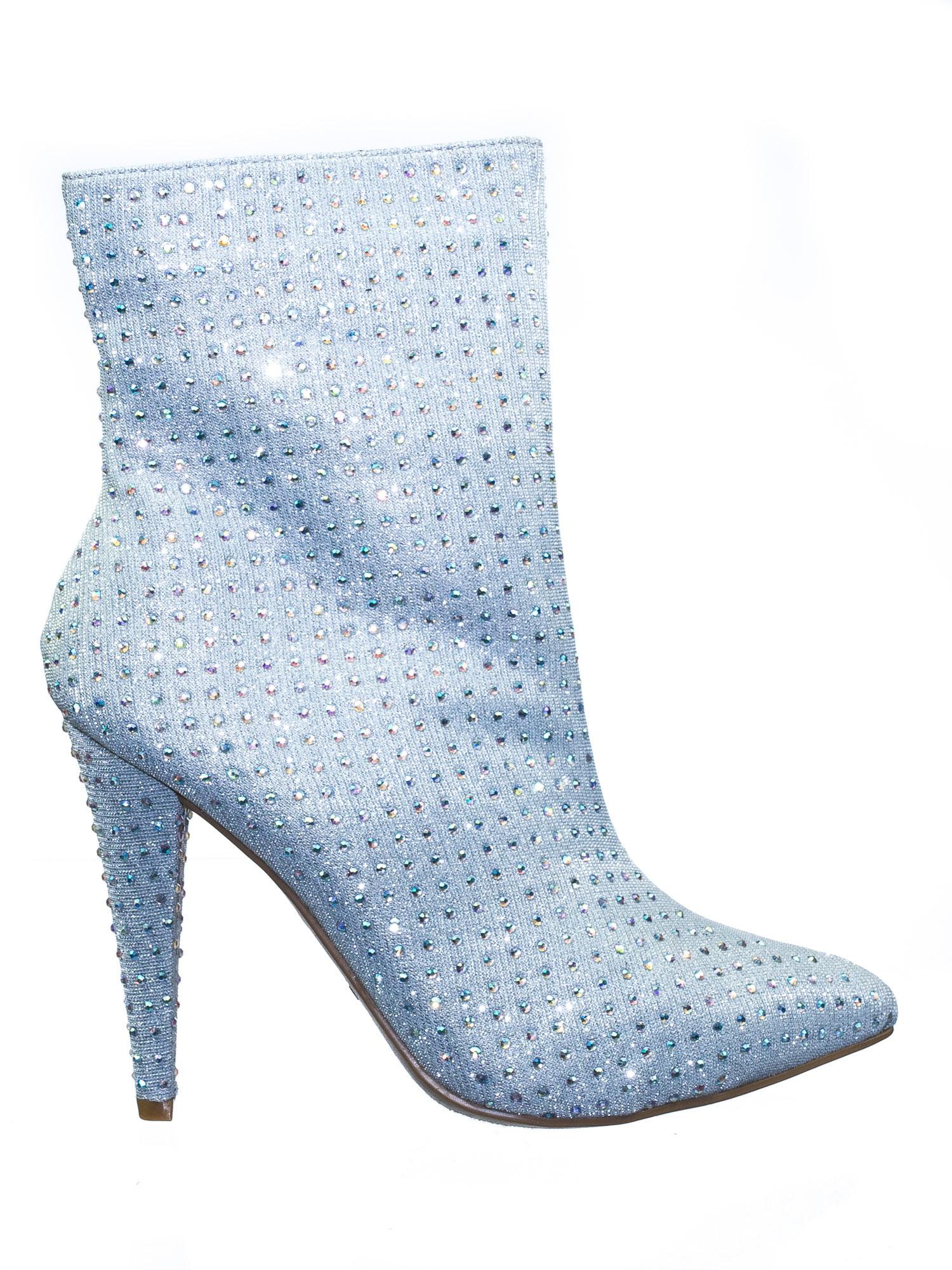 Ladies Anne Michelle Slim Heel Ankle /'Boots/'