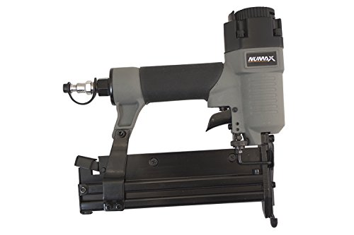 8 Gauge 2 In 1 Brad Nailer & Stapler for Installing Trim Or Light Wire Fencing by