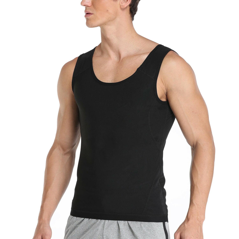 Women Men/'s Sweat Body Shaper Sauna Vest Slimming Weight Loss Shapewear Tank Top
