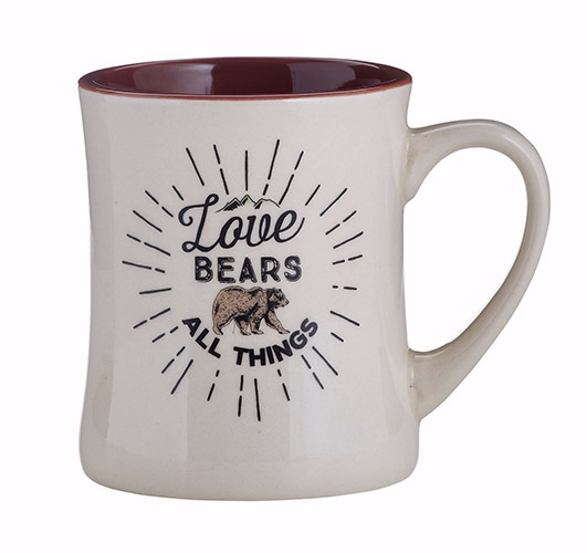 Mug-Love Bears All Thing/Creature Comforts (15 Oz)