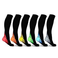 57ab112dd6 Product Image Unisex Knee High Compression Socks Fit for Running, Athletic  Sports, Flight, Travel (