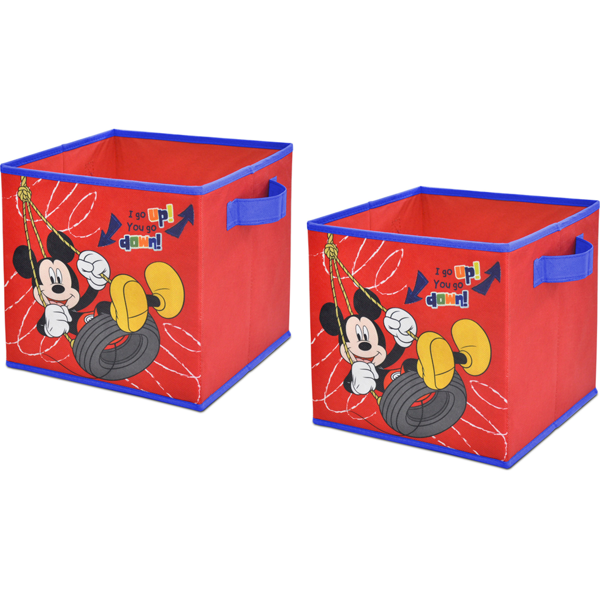 Disney Mickey Mouse 2-Pack Storage Cube