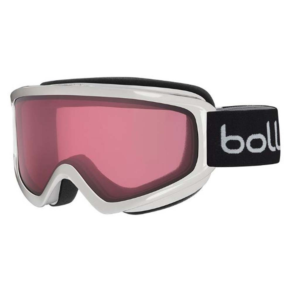 Bolle Winter Freeze Shiny White Vermillion M 21488 Ski Goggles AF Flow-Tech Lens by Bolle
