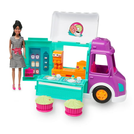KID CONNECTION FOOD TRUCK WITH 11.5`` FASHION DOLL (AA)