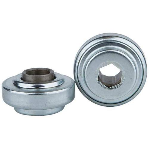 UNITED SALES CB-4111H15 Hex Conveyor Bearing, 11/16 In., 2.321 In.