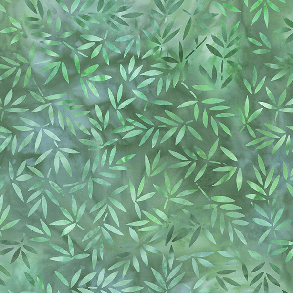 Wilmington Prints Green Mottled Leaves 108 Inch Wide Quilt Back