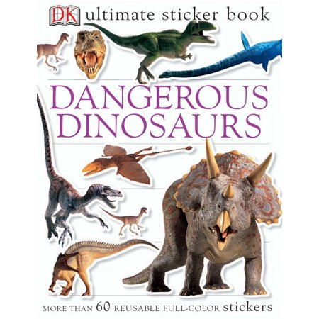 Ultimate Sticker Book: Dangerous Dinosaurs (Paperback) - Dinosaur Stickers