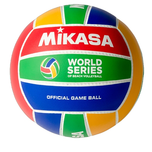 Beach Volleyball by Mikasa Sports, Size 5 Official - WS-PRO