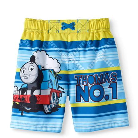 fc9eae2194 Thomas & Friends - Thomas The Train Toddler Boy Swim Trunk - Walmart.com