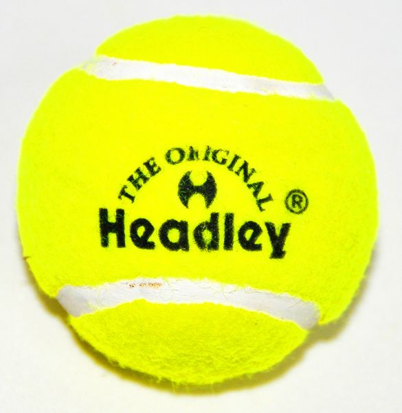 Headley Cricket Tennis Balls (Pack of 6), Yellow by Supplier Generic