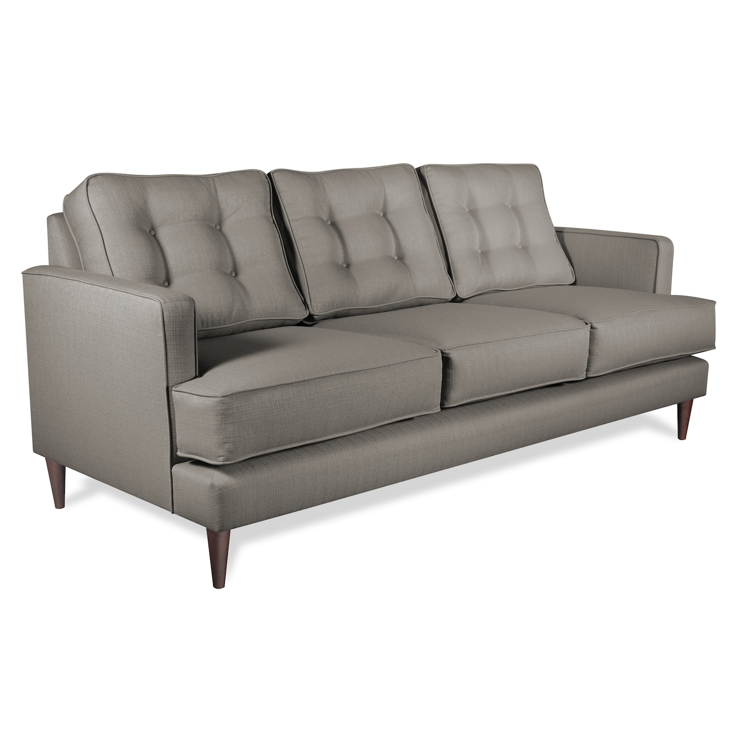 Huntington Industries Dana Mid Century Eco Friendly Sofa