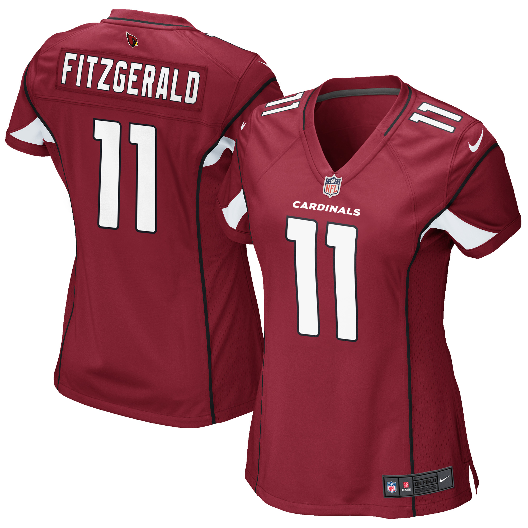 Larry Fitzgerald Arizona Cardinals Nike Girls Youth Replica Game Jersey - Cardinal