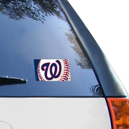 "Washington Nationals WinCraft 5"" x 6"" Multi-Use Decal - No Size"
