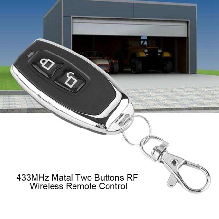 Ejoyous 433MHz Matal Two Buttons RF Wireless Learning Code Remote Control Transmitter,Remote Control,RF Remote Control - image 7 of 7