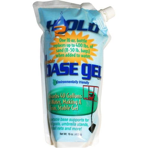 H2Old, BaseGel Basketball Goal Portable Bases Polymer, 16-Ounce