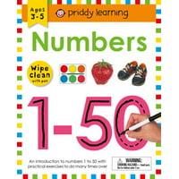 Wipe Clean Workbook: Numbers 1-50