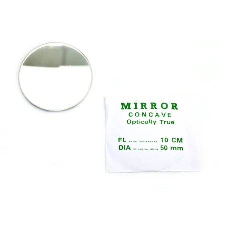 Eisco Labs Concave Mirror - Glass, dia 50mm, Focal length