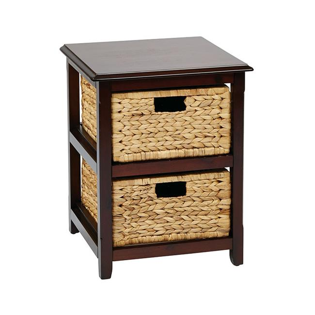 Avenue 6 Office Star SBK4512A-ES Seabrook Two-Tier Storage Unit