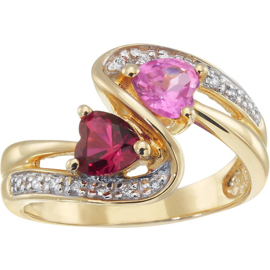 Personalized Keepsake Heart Swirl Ring
