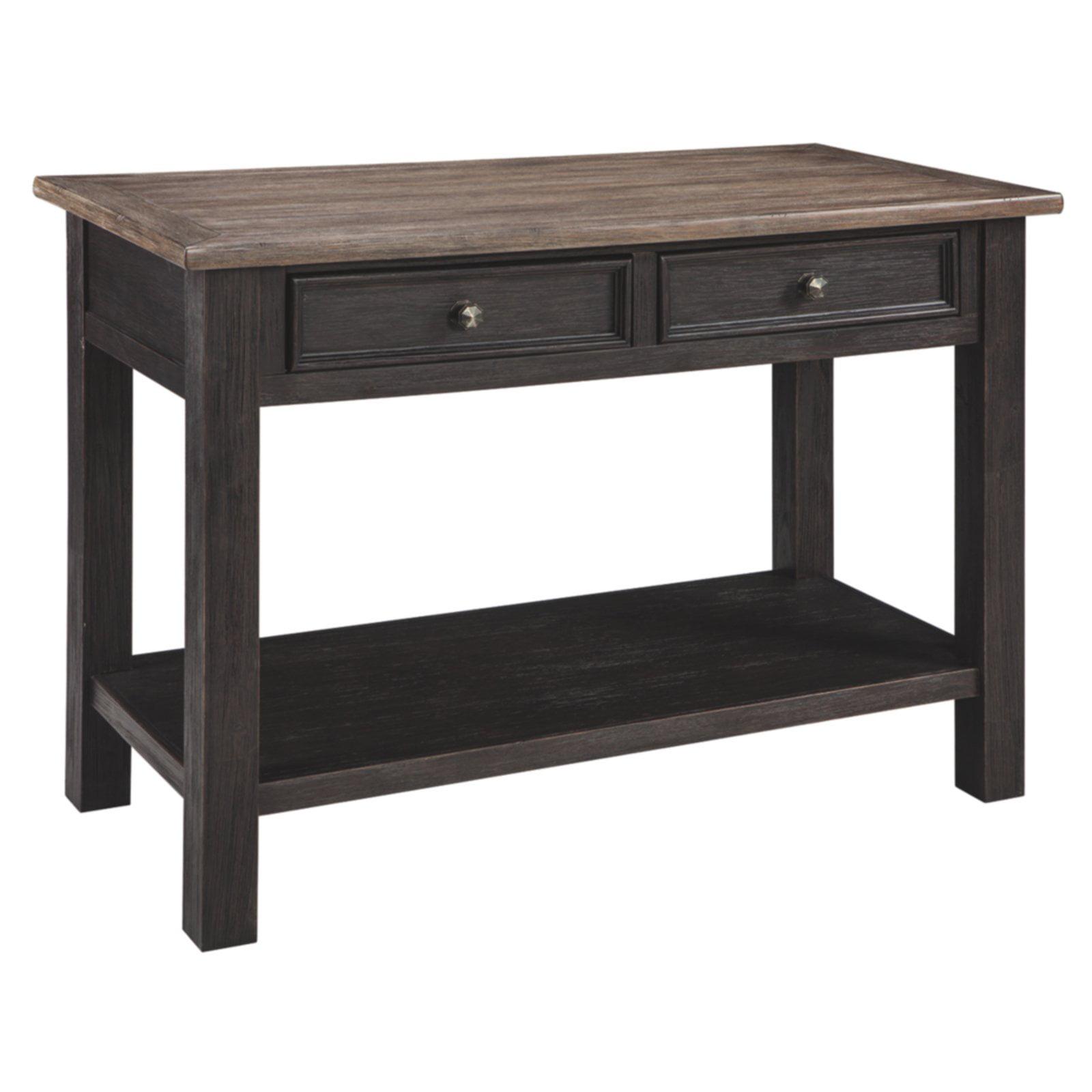 Signature Design by Ashley Tyler Creek Rectangular 2 Drawer Sofa Table