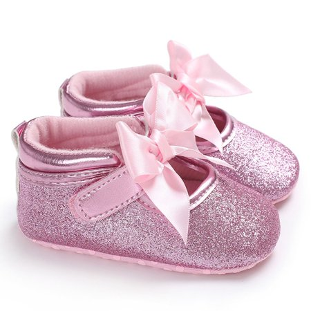 C431 Kids Princess Windy Butterfly Knot Soft-soled Walking Shoes Kids Shoes - image 2 of 8