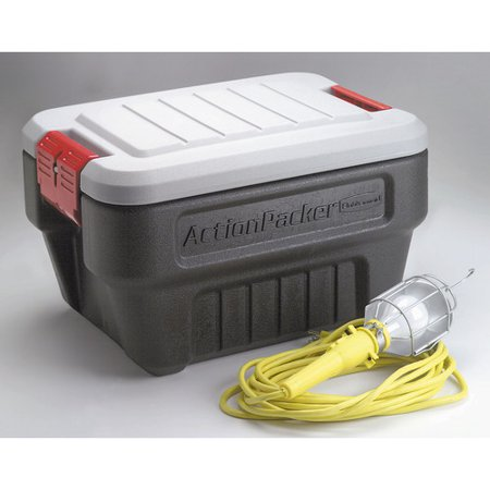 Rubbermaid Mini Action Packer Storage Container Set Of 4
