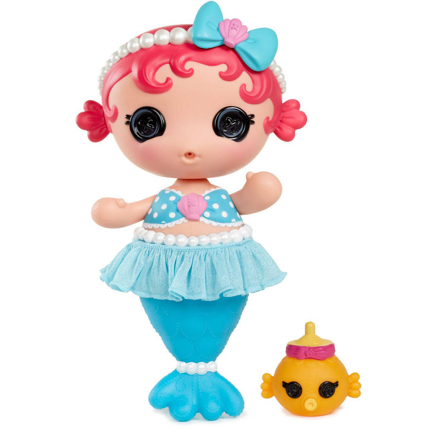 Lalaloopsy Babies Mermaid Doll, Coral Seashells