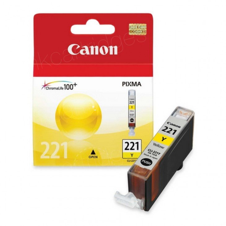 Canon (CLI-221Y) Yellow Ink Tank 2949B001