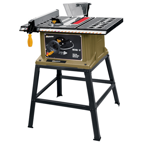 """Rockwell ShopSeries 13 Amp 10"""" Table Saw with Leg Stand"""