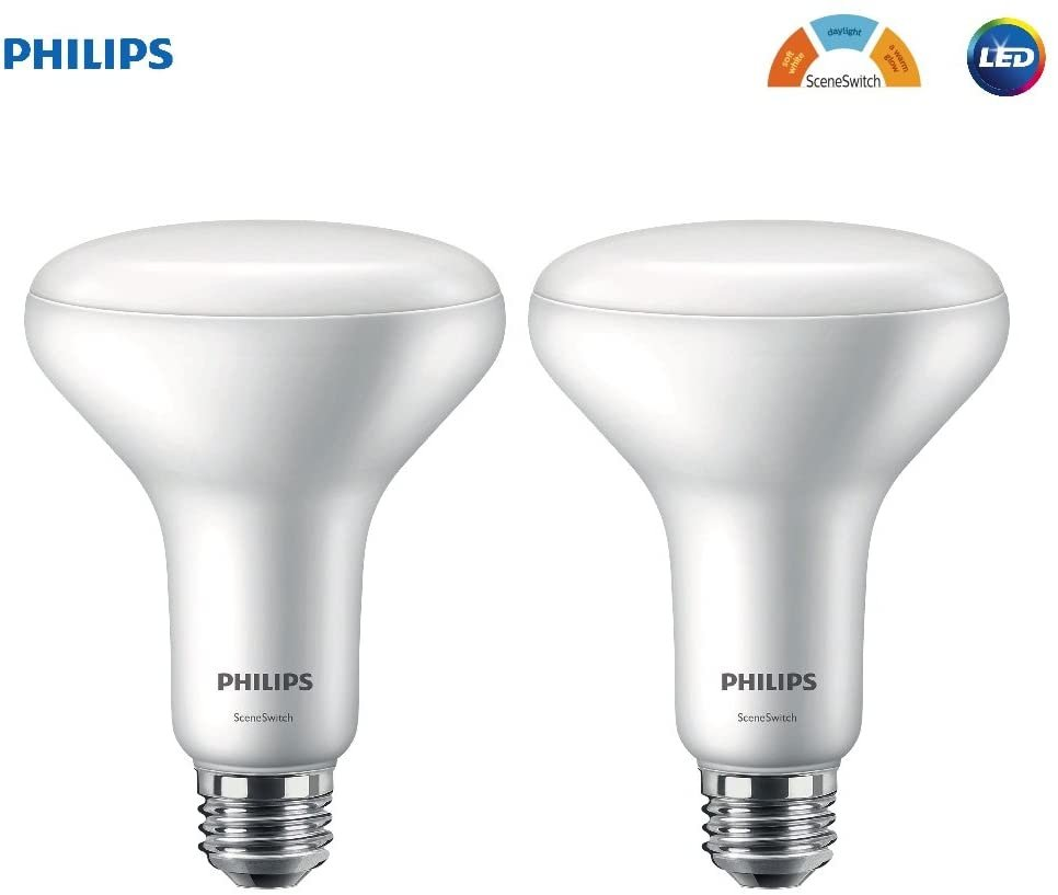 Philips myLiving Byrl LED SceneSwitch White on Metal Warm White to Neutral Dimmable with Existing Switch