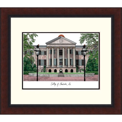 College of Charleston Legacy Alumnus Framed Lithograph