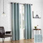 Sun Zero 2-pack Stockton Tile Jacquard Blackout Grommet Curtain Panel Pair