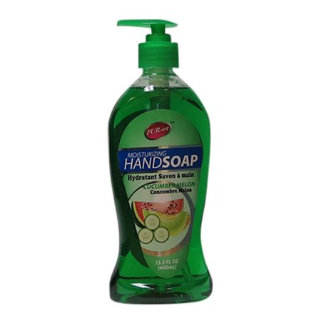 Moisturizing Hand Soap With Cucumber&Melon(400ml) 312482 By Purest - image 2 de 2