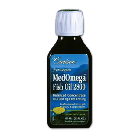 Carlson labs medomega fish oil 2800 3 3 fl oz for Carlson fish oil review