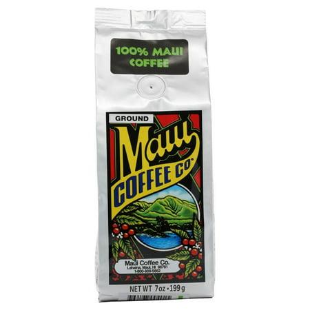 Maui Coffee Company, 100% Maui Coffee, 7 oz. - (Best Way To Store Ground Coffee)