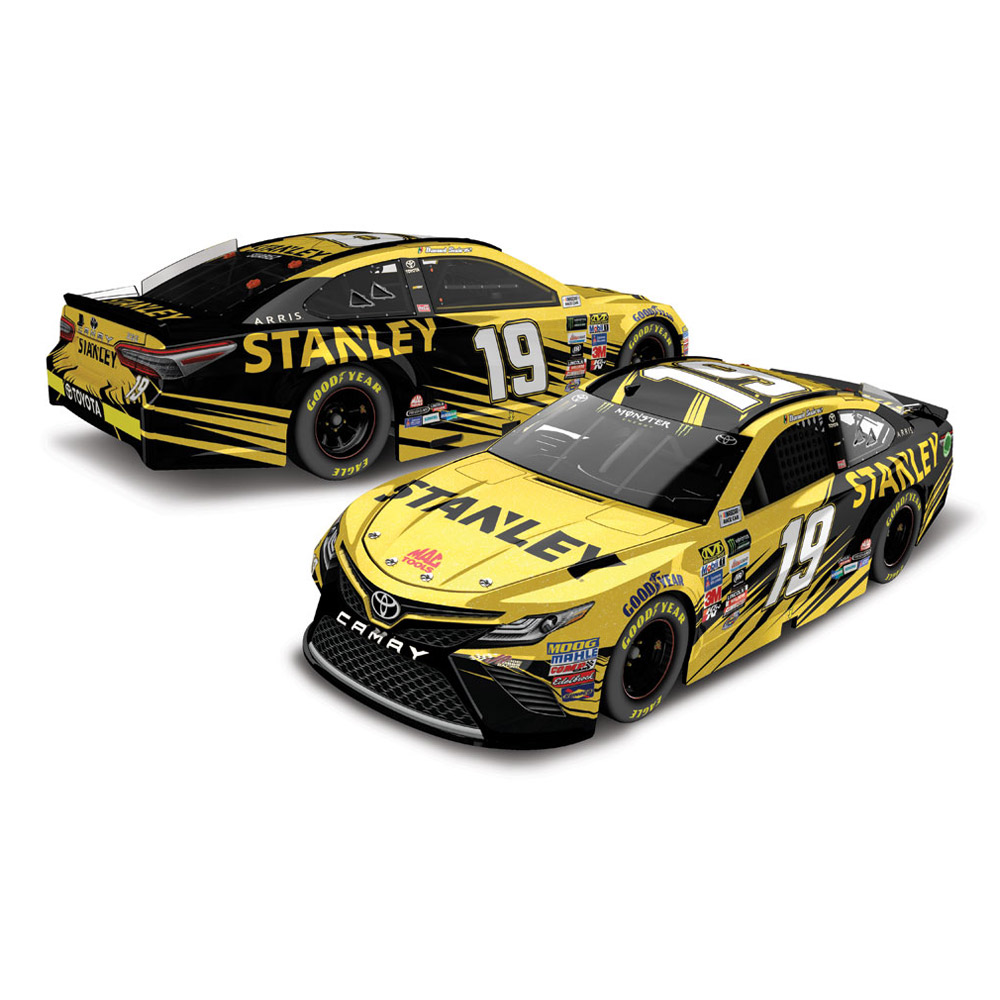 Action Racing Daniel Suarez 2017 #19 Stanley 1:24 Monster Energy Nascar Cup Series Galaxy... by Lionel LLC