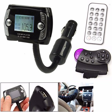 MP3 Player bluetooth FM Transmitter 2.1 LCD Car Kit  Audio Transmitter Modulator USB Wireless with Remote