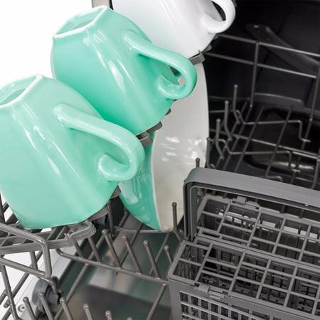 Ensue Countertop Dishwasher Energy Star Certified 6-Place 6-Program Setting, Silver