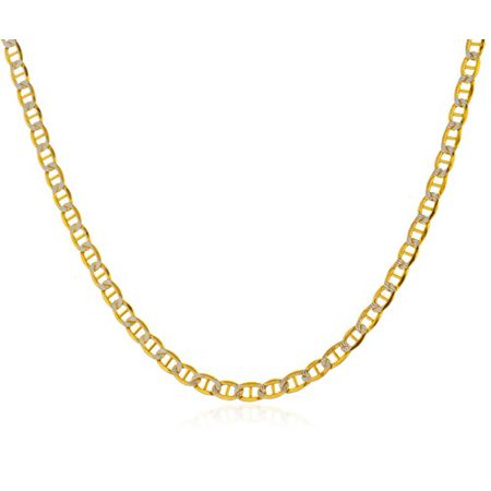 20 quot 24 quot 30 quot 14k gold ultimatecollectionnyc 14k yellow gold 3 3mm pave mariner