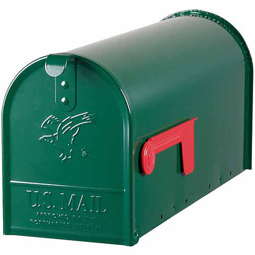 Solar Group Inc E11G Green Elite Premium Steel Mailbox