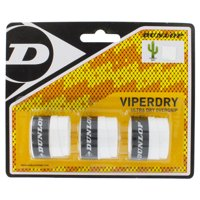 Viperdry White 3 Pack Ultra Dry Tennis Overgrip